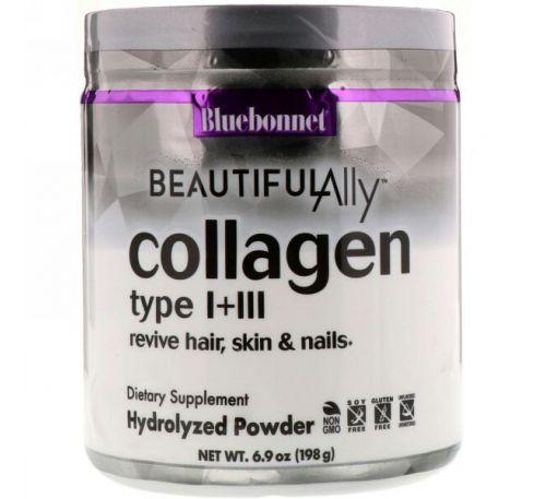 Bluebonnet Nutrition, Beautiful Ally, Collagen Type I + III, 6.9 oz ( 198 g)