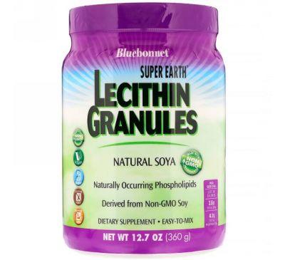 Bluebonnet Nutrition, Super Earth, лецитин в гранулах, 12,7 унции (360 г)