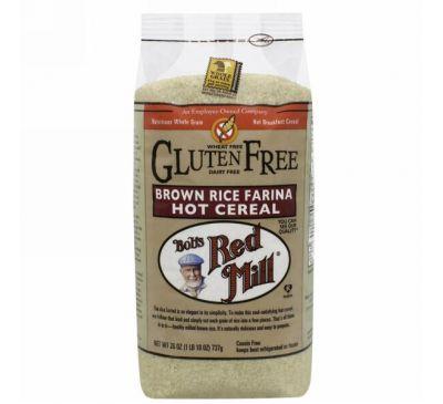 Bob's Red Mill, Creamy Rice, каша из муки из коричневого риса, 26 унций (737 г)
