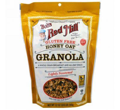 Bob's Red Mill, Gluten Free Honey Oat Granola, 12 oz (340 g)