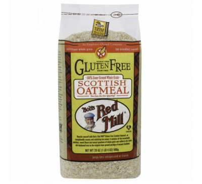 Bob's Red Mill, Gluten Free Scottish Oatmeal, 20 oz (565 g)
