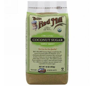 Bob's Red Mill, Органический кокосовый сахар, 16 унций (463 г)