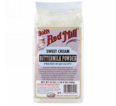 Bob's Red Mill, Сладкая сливочная пахта в порошке, 24 унции (680 г)