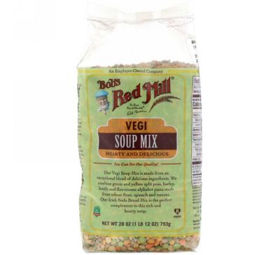 Bob's Red Mill, Vegi Soup Mix, 1 lb (793 g)
