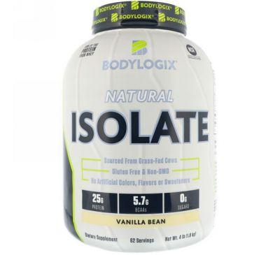 Bodylogix, Натуральный изолят, Стручки ванили, 4 фунта (1,8 кг)