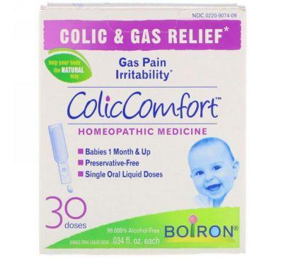 Boiron, ColicComfort, облегчение колик и устранение газов, 30 доз, по 0,034 жидких унций каждая