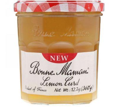 Bonne Maman, Лимонный творог, 360 г