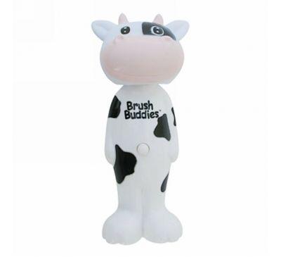 Brush Buddies, Poppin', корова Милки Уэйн, мягкая, 1 зубная щетка