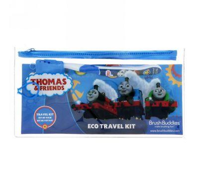 """Brush Buddies, """"Томас и друзья"""", дорожный набор эко, мягкая, 1 штуки в наборе"""