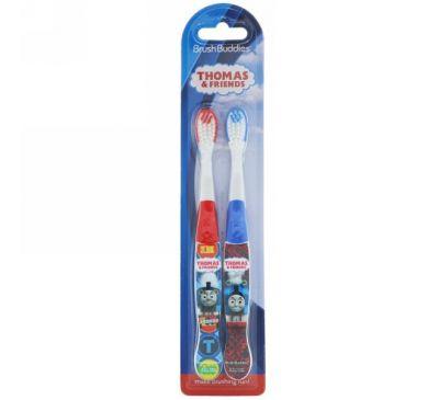 """Brush Buddies, Зубная щетка """"Томас и друзья"""", 2 штуки в наборе"""