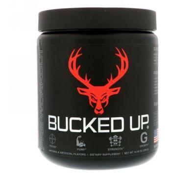 Bucked Up, Перед тренировкой, сочная малина 10,56 унции (299 г)