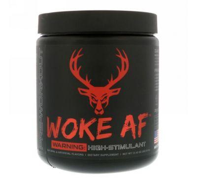 Bucked Up, WOKE AF, Pre-Workout, Blood Raz, 12.43 oz (352.53 g)