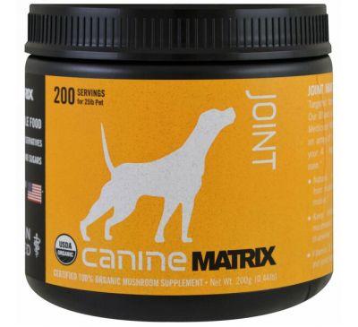 Canine Matrix, Связки, грибной порошок, 0.44 фунта (200 г)