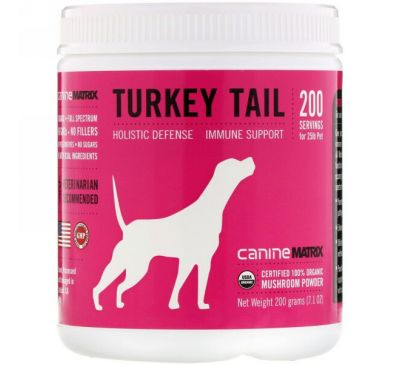 Canine Matrix, Turkey Tail, Mushroom Powder, 7.1 oz (200 g)
