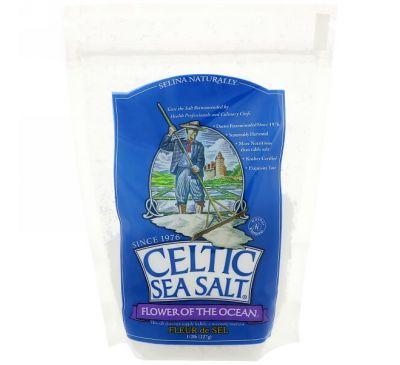 Celtic Sea Salt, Flower of The Ocean, 1/2 lb (227 g)