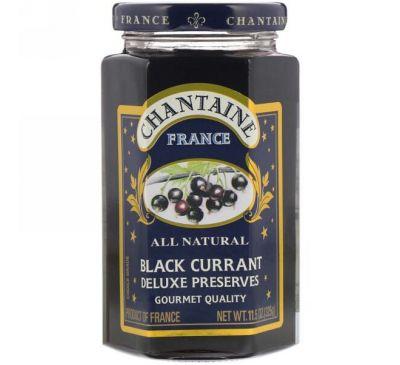 Chantaine, Deluxe Preserves, Черная смородина 11.5 унции (325 г)
