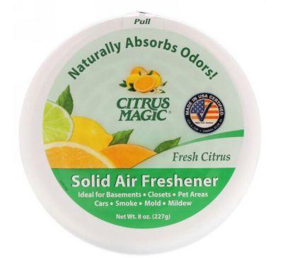 Citrus Magic, Твердый освежитель воздуха, свежий цитрусовый аромат, 8 унций (227 г)