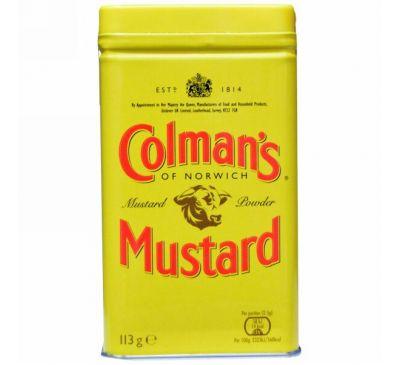 Colman's, Горчичный порошок высшего качества, 4 унции (113 г)