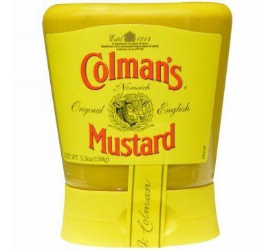 Colman's, Натуральная английская горчица, 5,3 унции (150 г)
