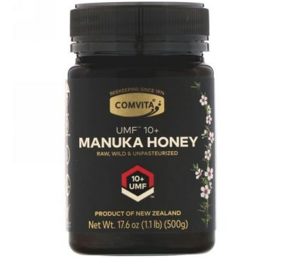 Comvita, Manuka Honey, UMF 10+, 17.6 oz (500 g)