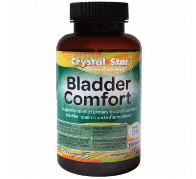 Crystal Star, Bladder Comfort (комфорт мочевого пузыря), 60 вегетарианских капсул