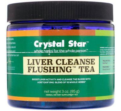 Crystal Star, Чай для очищения печени, 3 унции (85 г)