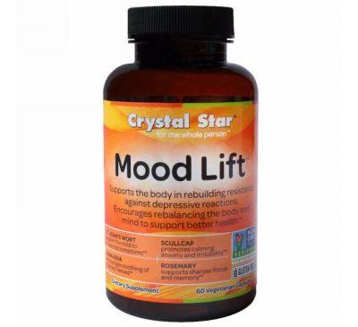 Crystal Star, Mood Lift, 60 капсул в растительной оболочке