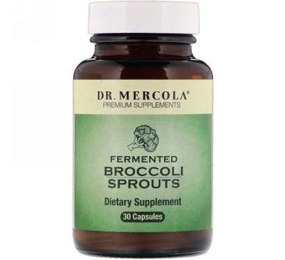 Dr. Mercola, Ферментированные ростки брокколи, 30 капсул