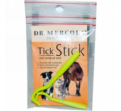 Dr. Mercola, Tick Stick, палочка для удаления клещей у животных 2 шт.