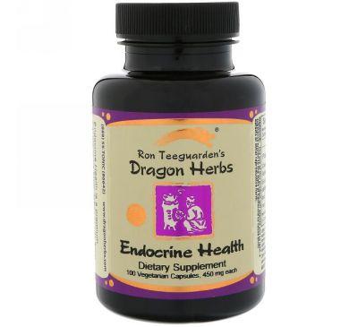 Dragon Herbs, Эндокриновое здоровье, 450 мг, 100 вегетарианских капсул