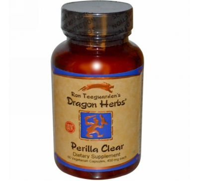Dragon Herbs, Perilla Clear, 450 мг, 60 растительных капсул