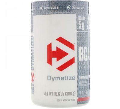 Dymatize Nutrition, BCAA — аминокислоты с разветвленной цепью, 300 г