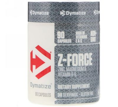 Dymatize Nutrition, Z-Force, 90 капсул