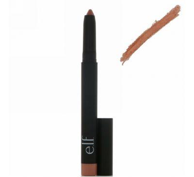 E.L.F. Cosmetics, Матовый карандаш для губ, Почти нюдовый, 0,05 унц. (1,4 г)