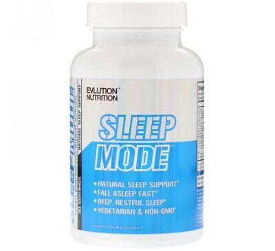 EVLution Nutrition, SleepMode, натуральное средство для улучшения сна, 60 капсул