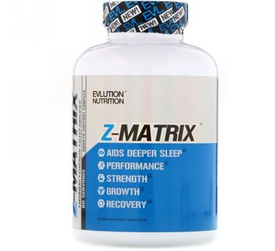 EVLution Nutrition, Z Matrix, 240 капсул