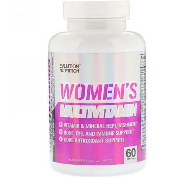 EVLution Nutrition, Женский мультивитамин, 120 таблеток