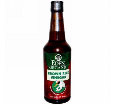 Eden Foods, Органический уксус из коричневого риса, 10 жидких унций (296 мл)