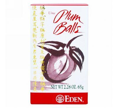 Eden Foods, Японская слива, драже, 2,28 унции (65 г)