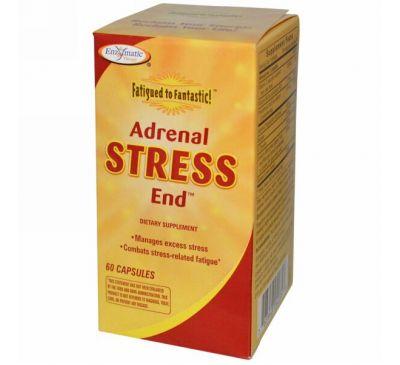 Enzymatic Therapy, От усталости - к отличному состоянию! Для борьбы с надпочечным стрессом, 60 капсул