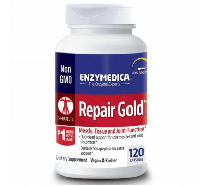 Enzymedica, Repair Gold, 120 капсул