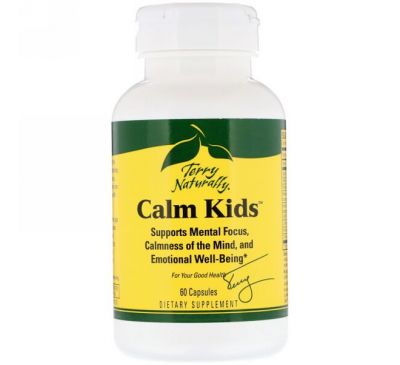 EuroPharma, Terry Naturally, Calm Kids, 60 капсул