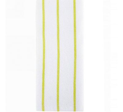Full Circle, Hue, Modern Kitchen Towels, Lime Stripes
