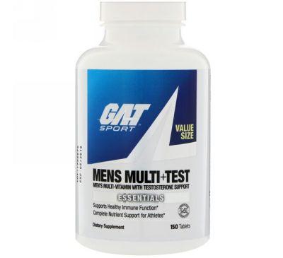"""GAT, """"Мульти + якорцы для мужчин"""", мультивитаминный комплекс для мужчин с добавлением экстракта якорцов стелющихся, 150 таблеток"""