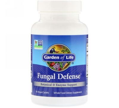 Garden of Life, Fungal Defense, 84 Caplets