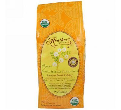Heather's Tummy Care, Органическая растворимая клетчатка сенегальской акации, 453 г
