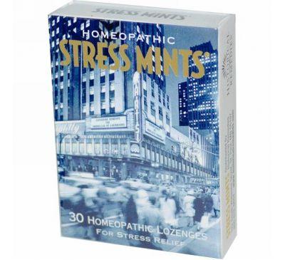 Historical Remedies, Мятные таблетки от стресса, 30 гомеопатических таблеток