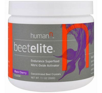 HumanN, Beetelite, со вкусом черной вишни, 7,1 унций (200 г)