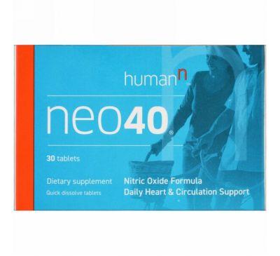 HumanN, Neo 40, 30 таблеток