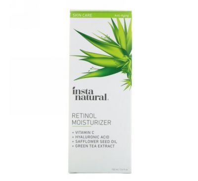 InstaNatural, Увлажняющее средство с ретинолом, 3,4 ж. унц. (100 мл)
